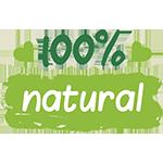 100% naturalny produktu
